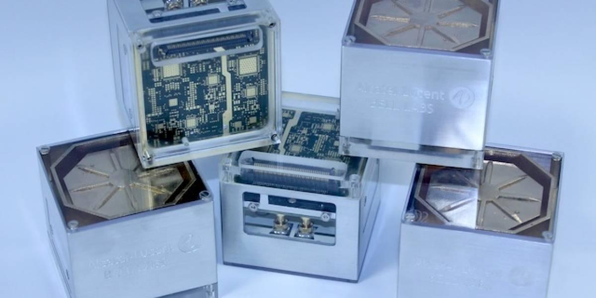 Alcatel-Lucent planea achicar las antenas de celular con sistema de cajitas