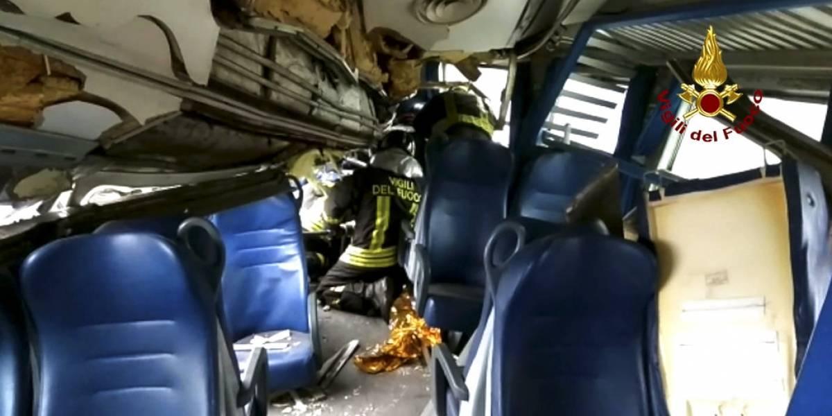 Tragedia férrea en Italia: tren descarrila en Milán y deja al menos tres muertos, decenas de heridos y varias personas atrapadas