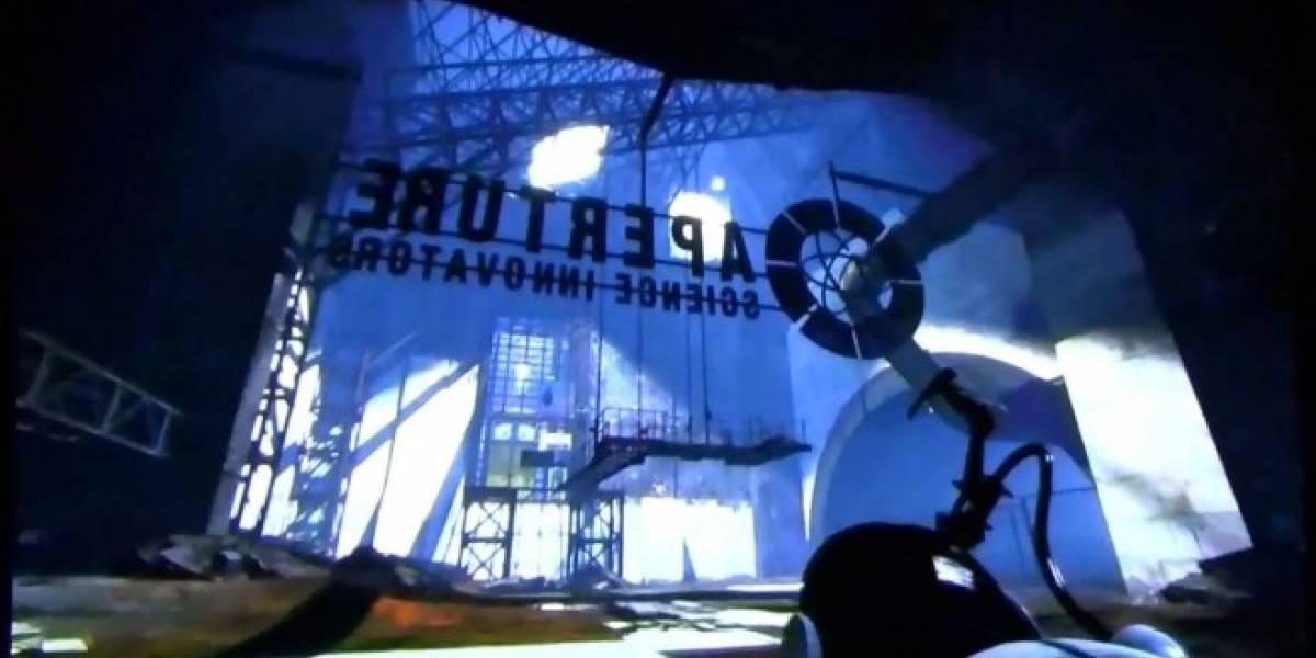 Aquí tienen algo de Portal 2 en la [PAX 2011]