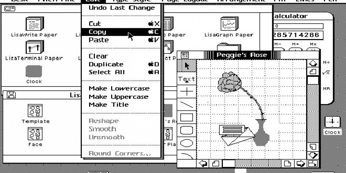 El primer computador con interfaz gráfica (a precio 'razonable'), Apple Lisa, cumple 30 años