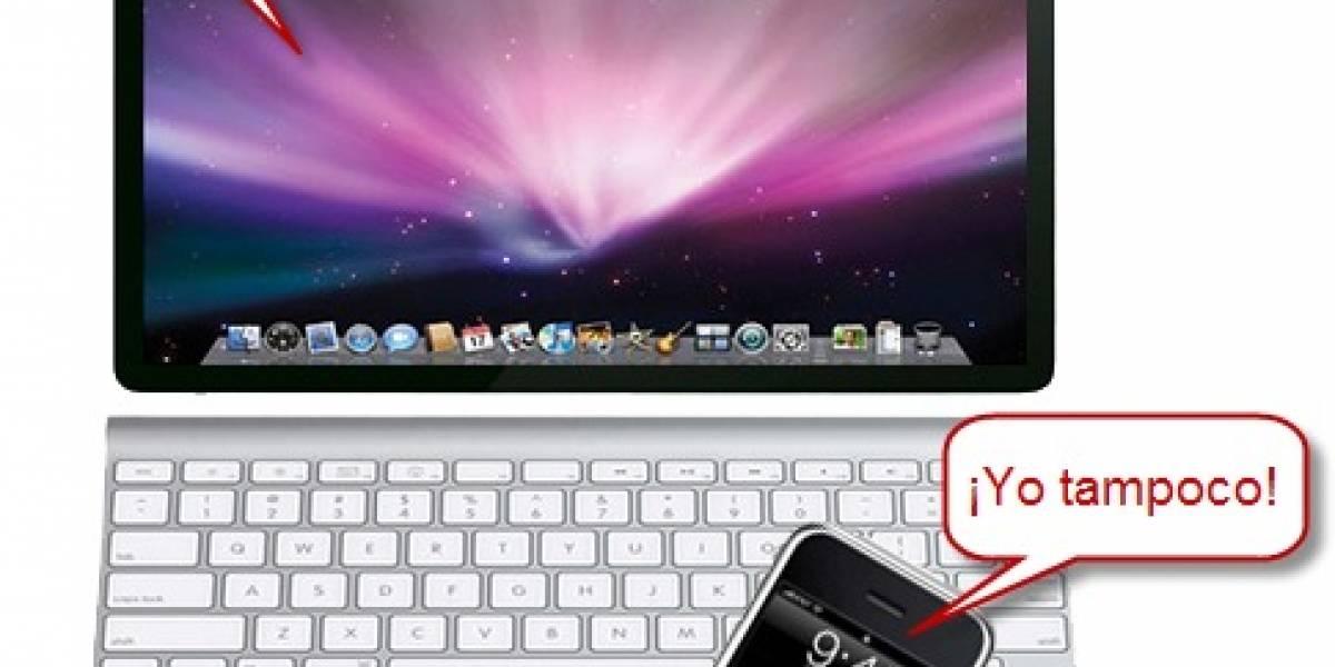 No habrá iPhone Nano ni tampoco Apple Netbook