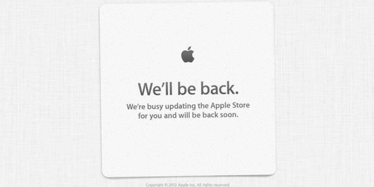 La Apple Store está fuera de servicio