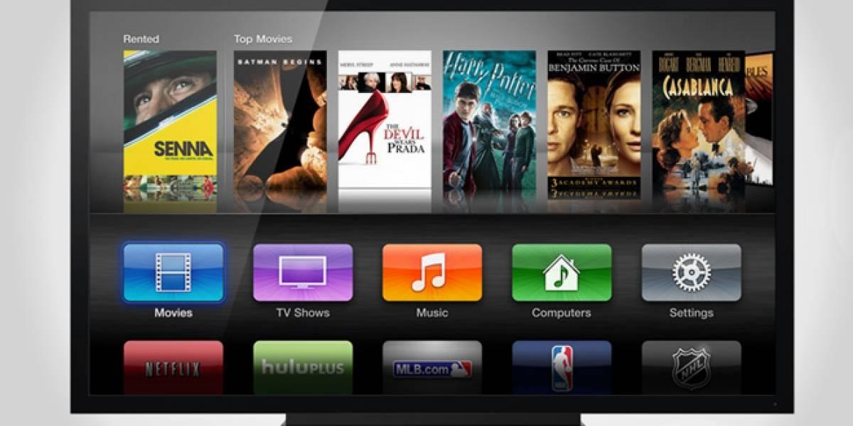 Apple estaría probando diseños para un televisor