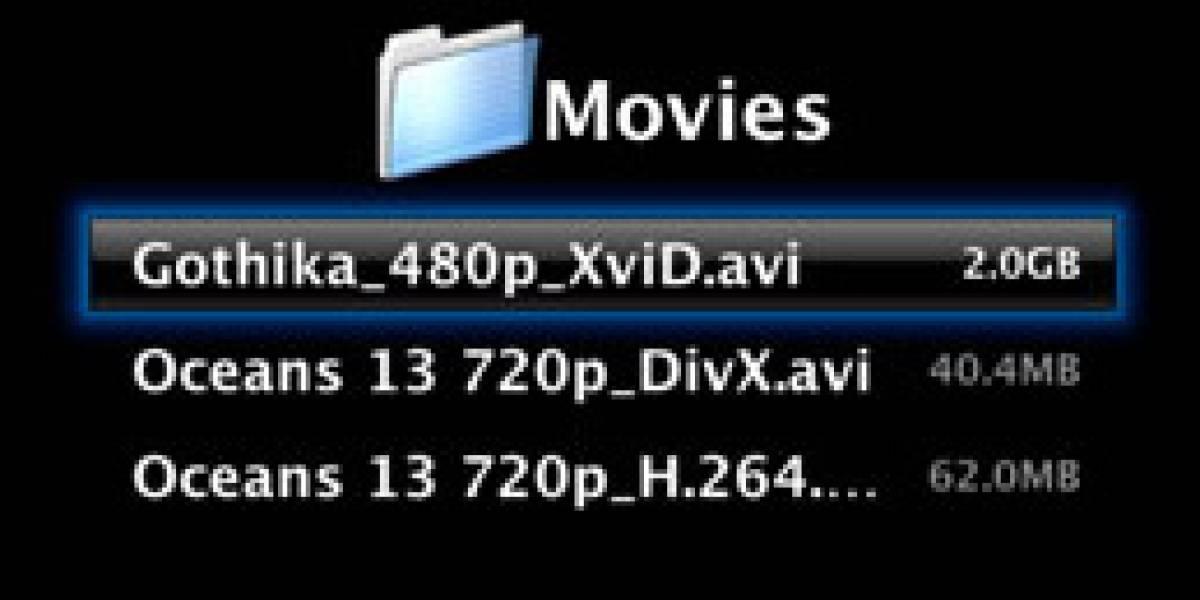 Como reproducir DivX en tu AppleTV