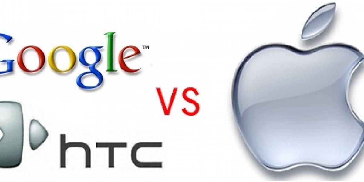 Google le entrega patentes a HTC para usarla en contra de Apple