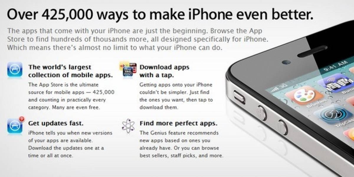 App Store llega a 15 mil millones de descargas