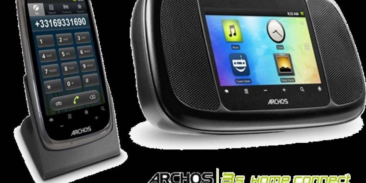 ARCHOS lanza despertador y teléfono casero inteligentes