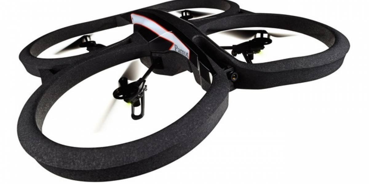 CES 2012: El AR.Drone 2.0 tiene cámara HD, mejor estabilidad y comparte sus videos