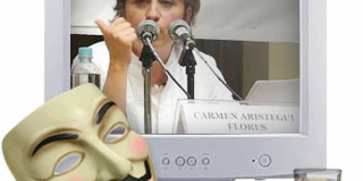 """México: """"Operación Tequila"""" ataca el sitio de MVS en protesta por la salida de Aristegui"""