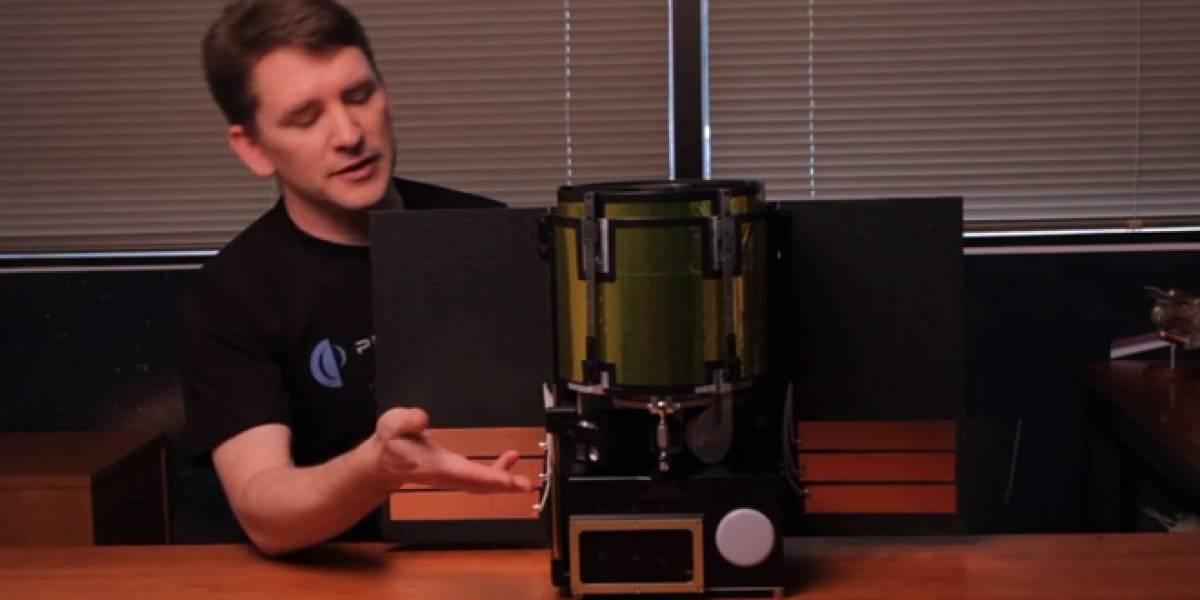 Empresa de minería de asteroides presenta telescopio para misiones espaciales