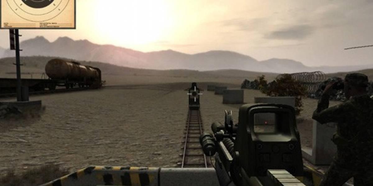 ARMA II Firing Range llegará a iPhone y Android Tegra