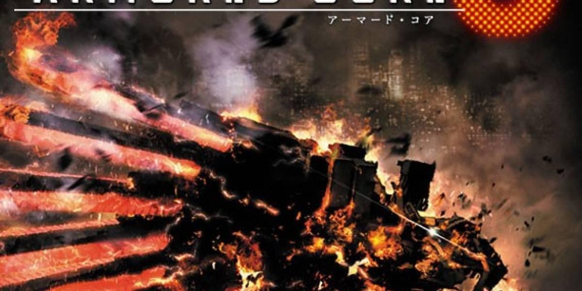Mechas y mucha acción en el trailer de lanzamiento de Armored Core V
