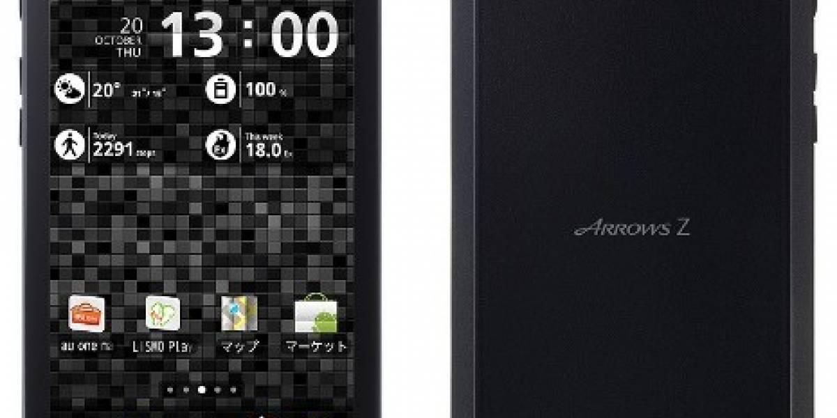 Fujitsu-Toshiba anuncian el Arrows Z ISW11F: Resistente al agua y con cámara de 13 megapíxels