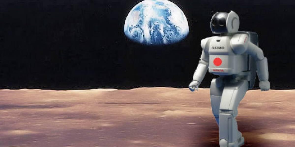 Japón quiere mandar a un robot humanoide a la luna el 2020
