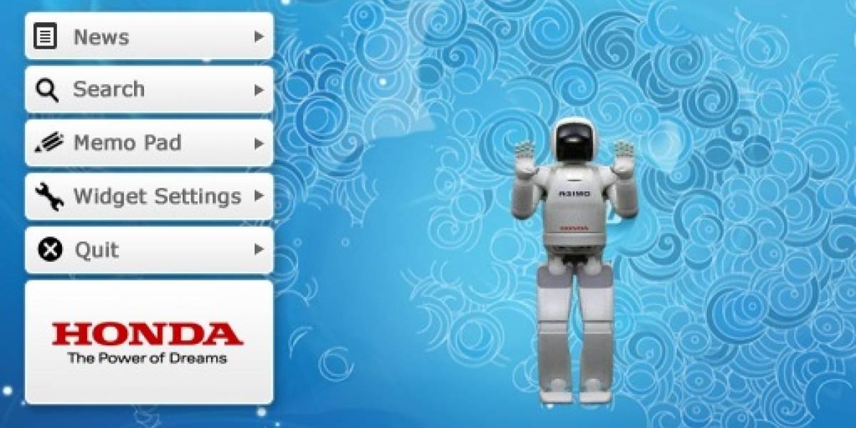 ASIMO Widget: El robot de Honda en tu escritorio