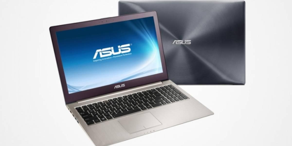IFA 2012: Asus presenta un Zenbook de 15 pulgadas con procesador Ivy Bridge
