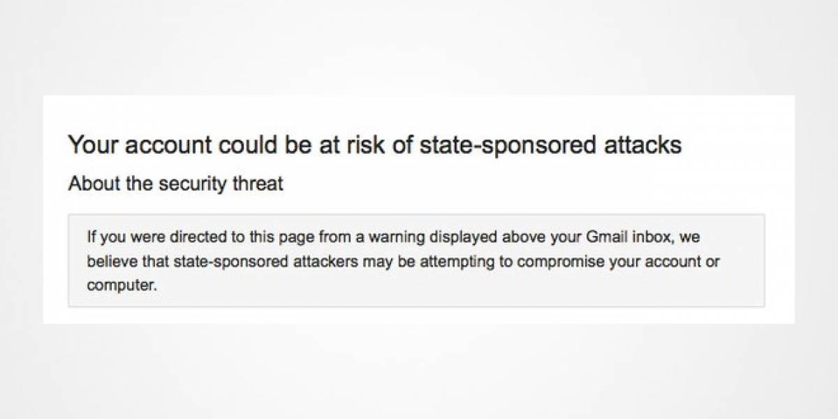 Google advierte sobre nuevos ciberataques lanzados por gobiernos