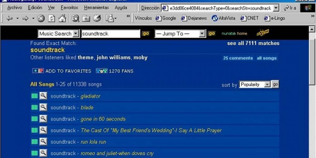 Vuelven los '00: Dropbox compra Audiogalaxy