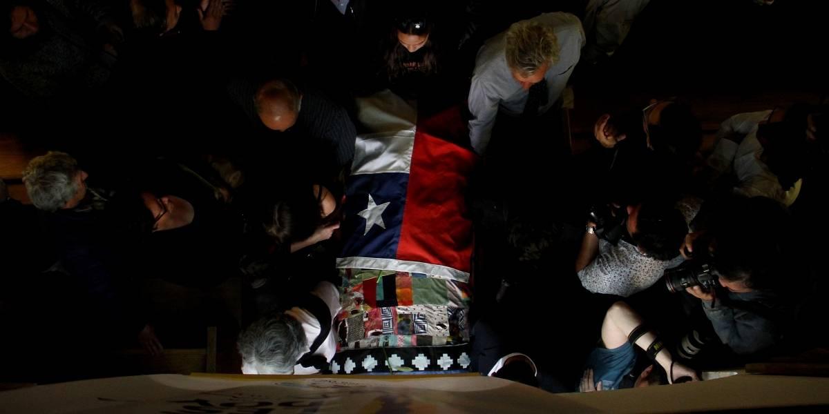 Galería: el funeral de Nicanor Parra en Las Cruces