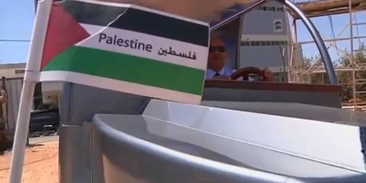 Palestinos diseñan auto solar para evitar comprar petróleo a Israel