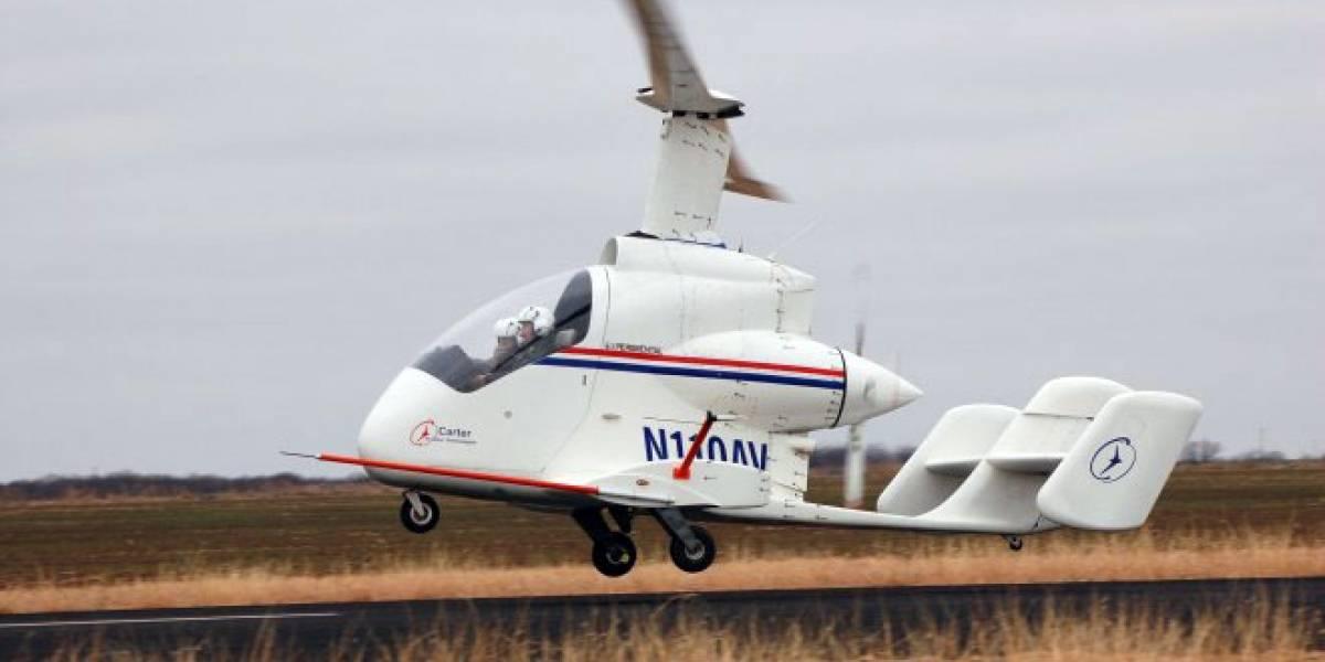 """Carter Aviation prueba con éxito su """"vehículo aéreo personal"""""""
