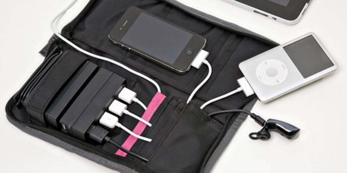 Este cargador de batería portátil vía USB sí parece útil para viajar