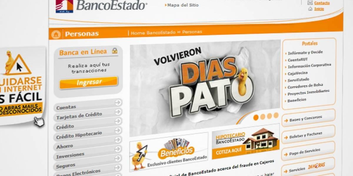 Chile: BancoEstado expuso en internet un log con información de clientes sin cifrar