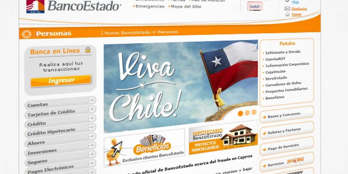 Chile: BancoEstado lleva cuatro días con problemas en su sitio web