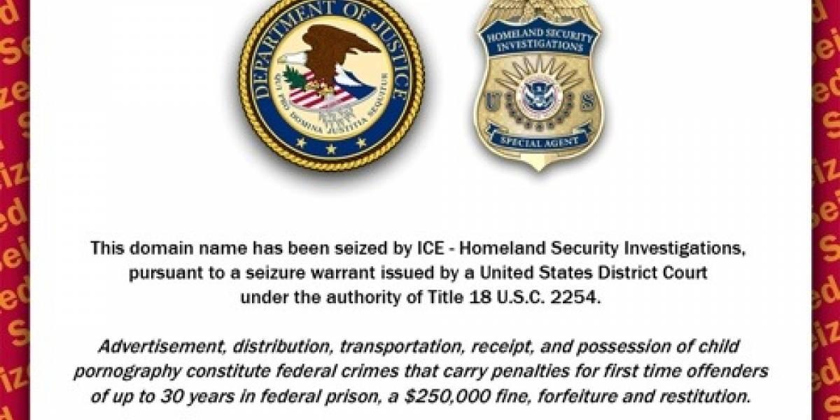 Estados Unidos cerró 84.000 sitios web por errónea acusación de pornografía infantil