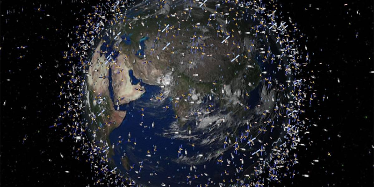 Japón planea crear una red para atrapar la basura espacial