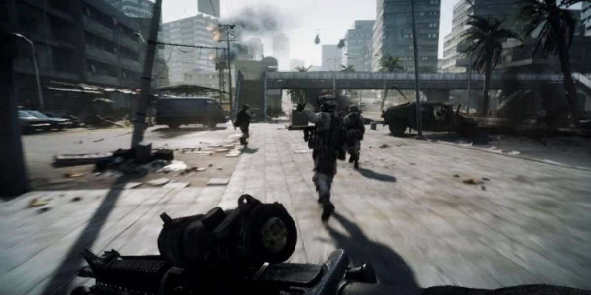 Hasta 256 jugadores simultáneos serían posibles en Battlefield 3