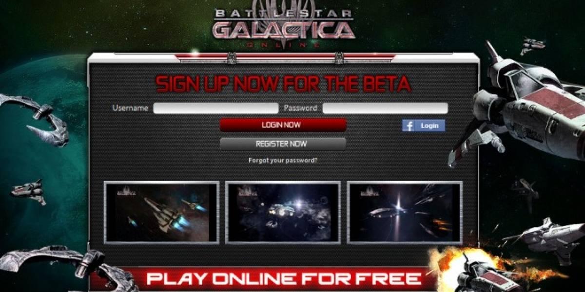 Trailer de Battlestar Galactica Online