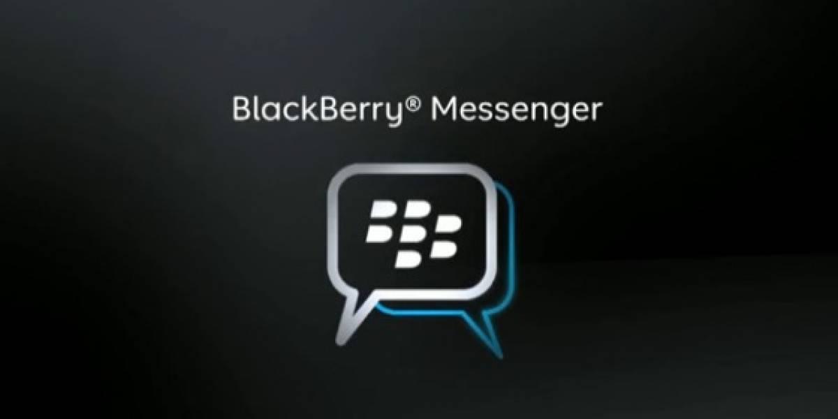RIM podría cerrar temporalmente BlackBerry Messenger durante manifestaciones sociales