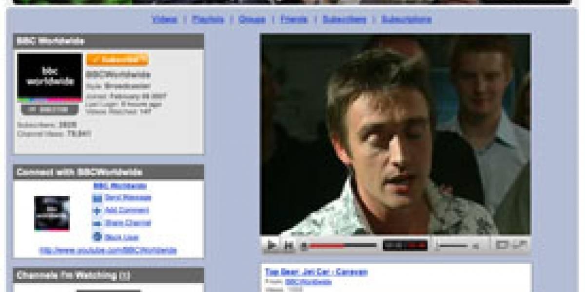 BBC y Google/YouTube logran acuerdo de distribución