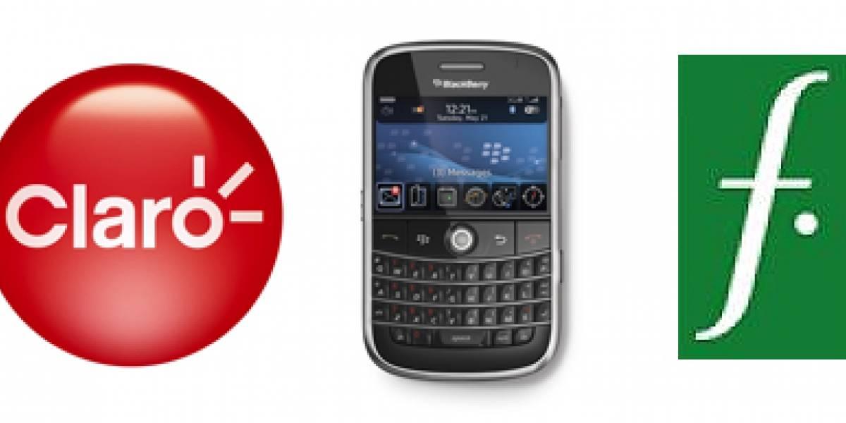 Claro anuncia disponibilidad y precio del BlackBerry Bold en Chile