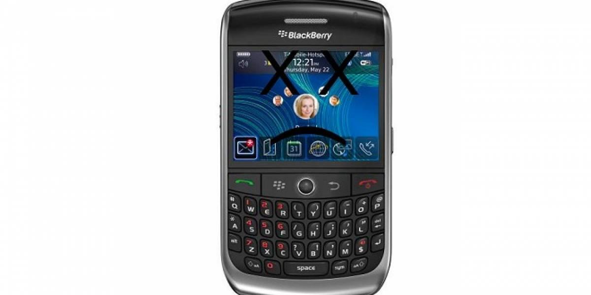 RIM afirma que servicios de BlackBerry mejoraron significativamente