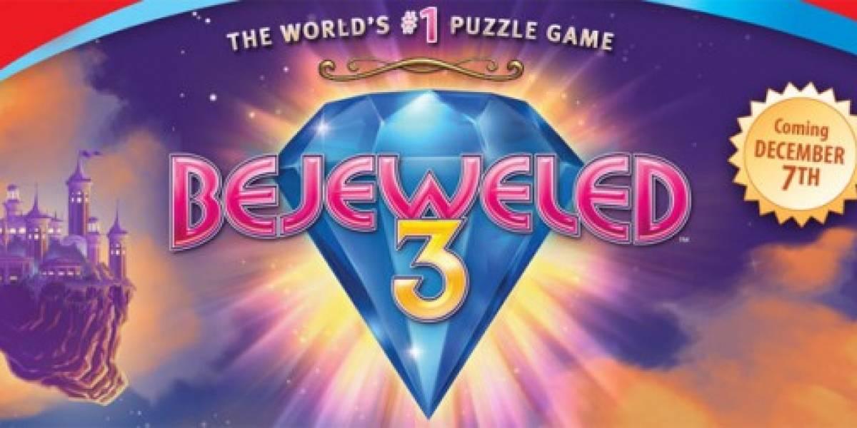 PopCap lanzará Bejeweled 3 en Diciembre