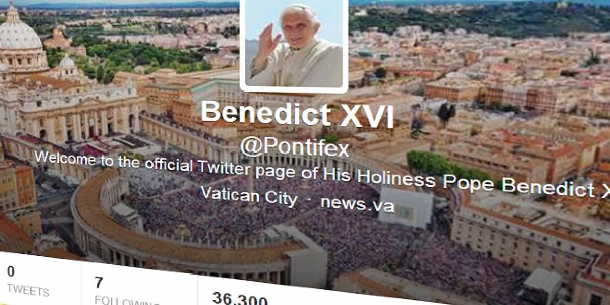 Se abre la cuenta oficial en Twitter del Papa Benedicto XVI