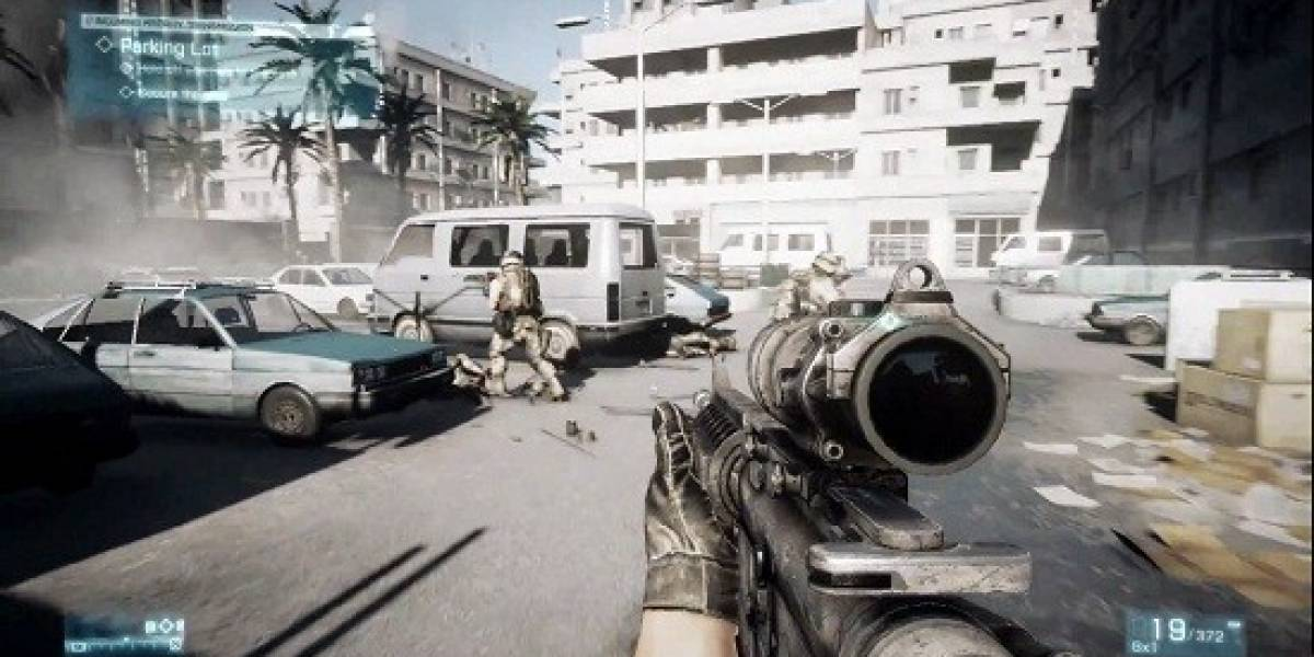 Asi se ve Battlefield 3 [GDC 11]