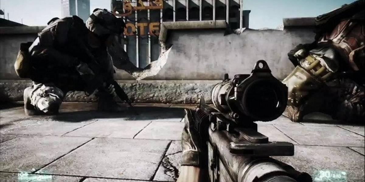 El nuevo trailer de Battlefield 3 se ve espectacular