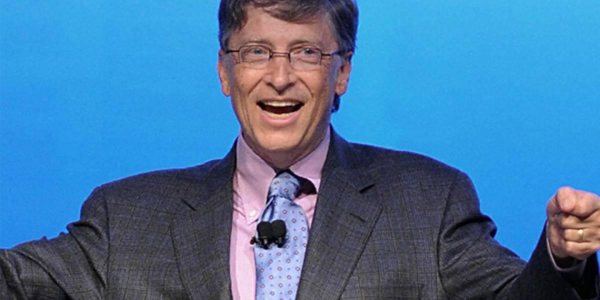En 2012, acciones de Microsoft subieron un 2,9% y Bill Gates ganó USD$7.000 millones