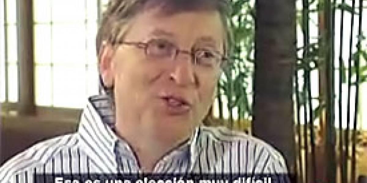 Televisa entrevista a Bill Gates
