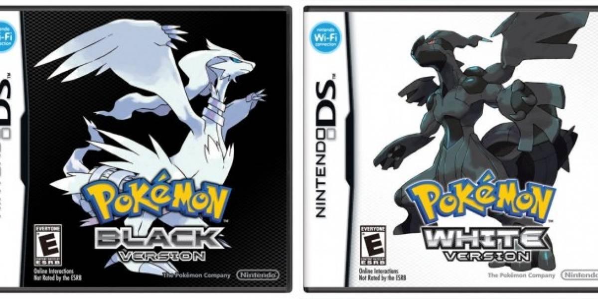 Pokémon Black and White ya tienen fecha para Norteamérica