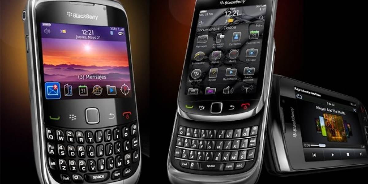 España: Movistar y Orange compensarán a los clientes de Blackberry