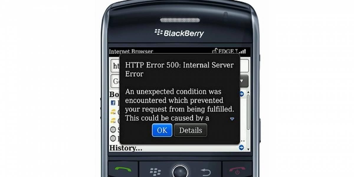 BlackBerry continúa con problemas con su red por tercer día consecutivo