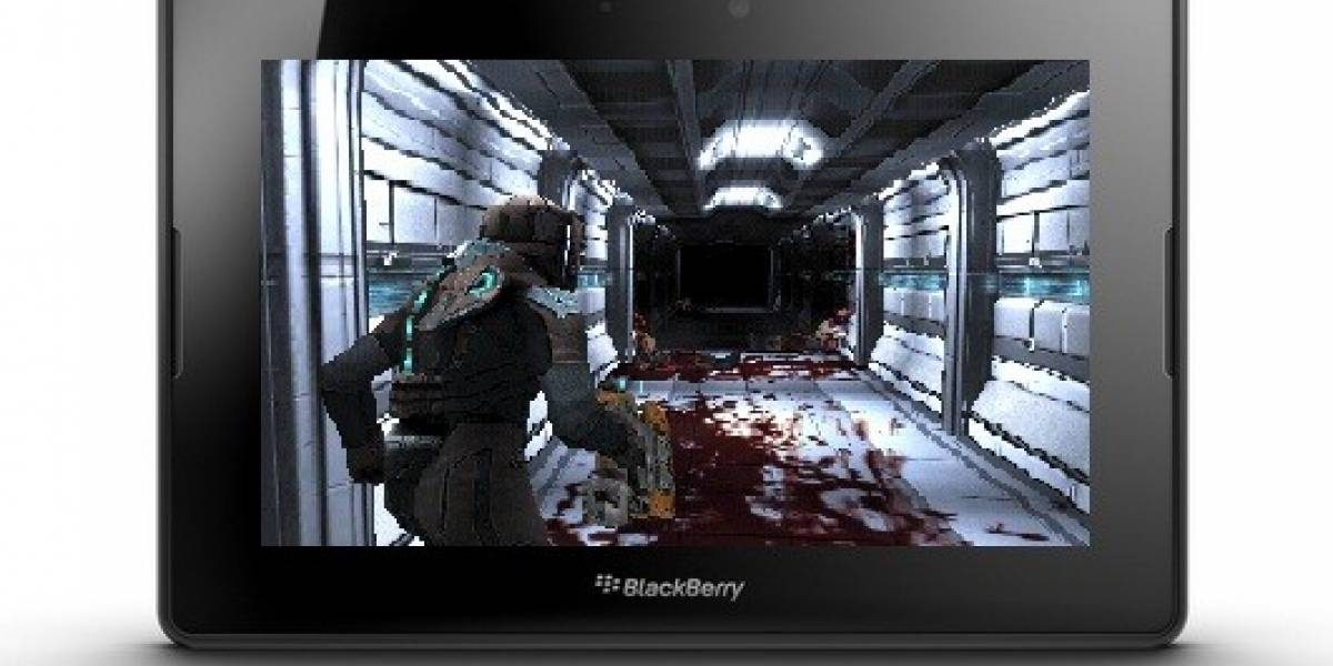 Dead Space llega a la BlackBerry PlayBook