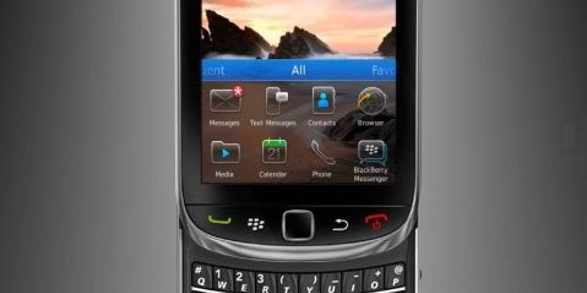 BlackBerry Torch 9810 poseerá un Nuevo Teclado Virtual