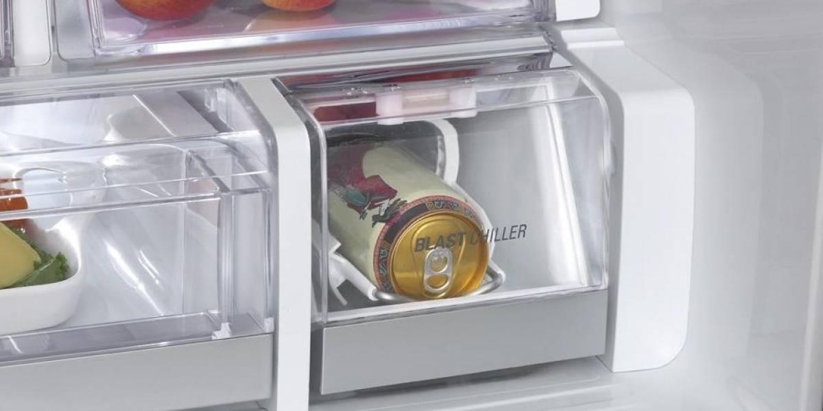 CES 2012: LG te enfría la cerveza en menos de cinco minutos con Blast Chiller
