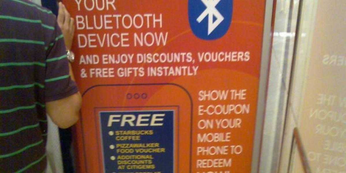 El spam vía Bluetooth está OK (Según USA)