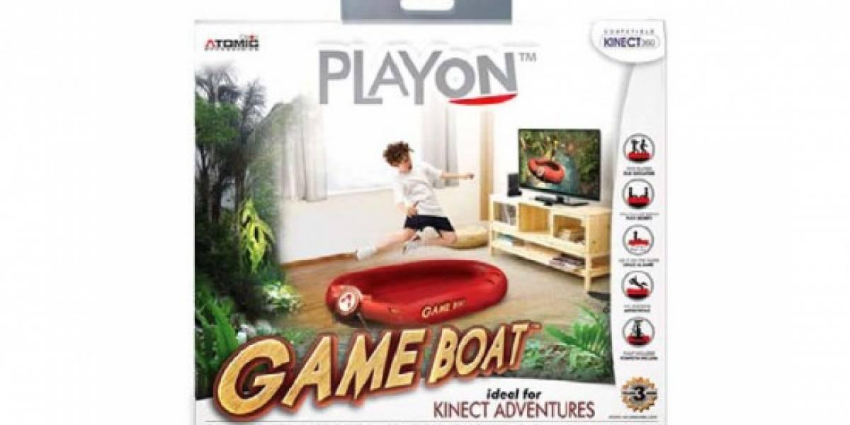 Y el primer periférico para Kinect es.. ¡un bote!